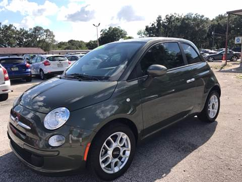 2013 FIAT 500 for sale at Budget Motorcars in Tampa FL