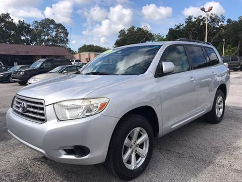 2008 Toyota Highlander for sale at Budget Motorcars in Tampa FL