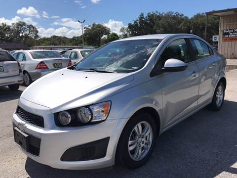 2012 Chevrolet Sonic for sale at Budget Motorcars in Tampa FL