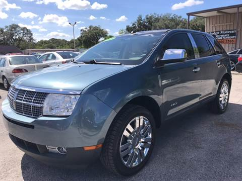 2010 Lincoln MKX for sale at Budget Motorcars in Tampa FL