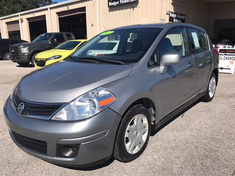 2012 Nissan Versa for sale at Budget Motorcars in Tampa FL