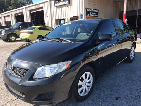 2009 Toyota Corolla for sale at Budget Motorcars in Tampa FL