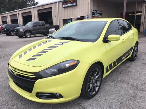 2013 Dodge Dart for sale at Budget Motorcars in Tampa FL