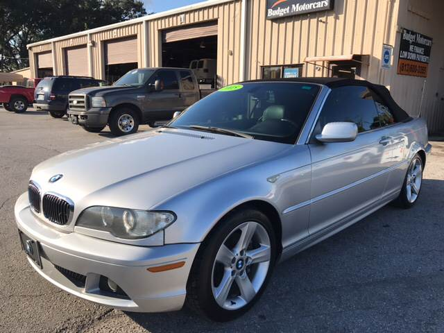 Bmw Series Ci Dr Convertible In Tampa FL Budget Motorcars - 2005 convertible bmw