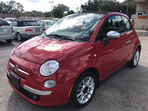 2012 FIAT 500c for sale at Budget Motorcars in Tampa FL
