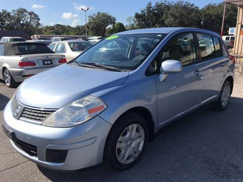 2009 Nissan Versa for sale at Budget Motorcars in Tampa FL