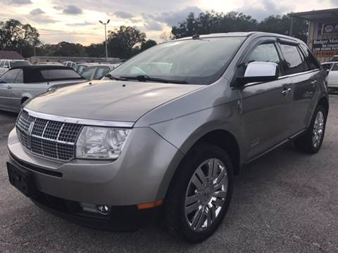 2008 Lincoln MKX for sale at Budget Motorcars in Tampa FL