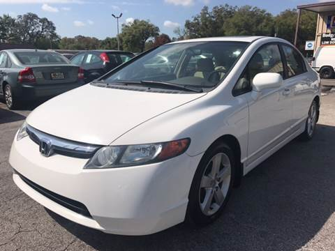 2007 Honda Civic for sale at Budget Motorcars in Tampa FL