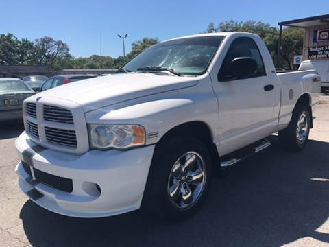 2003 Dodge Ram Pickup 1500 for sale at Budget Motorcars in Tampa FL