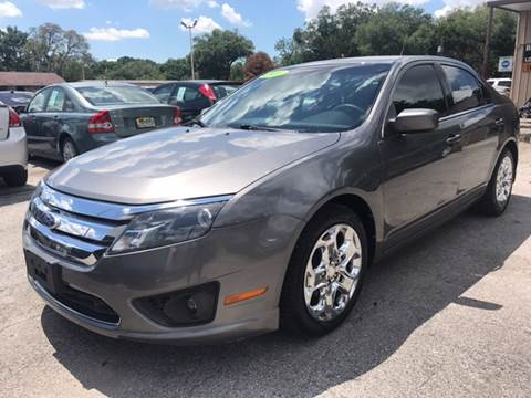 2010 Ford Fusion for sale at Budget Motorcars in Tampa FL