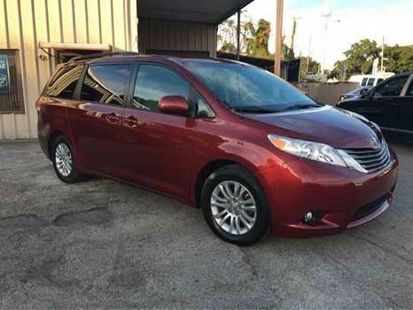 2012 Toyota Sienna for sale at Budget Motorcars in Tampa FL