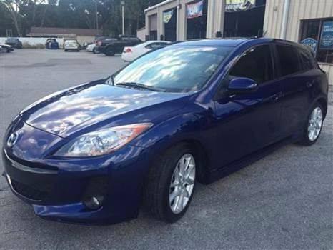 2012 Mazda MAZDA3 for sale at Budget Motorcars in Tampa FL