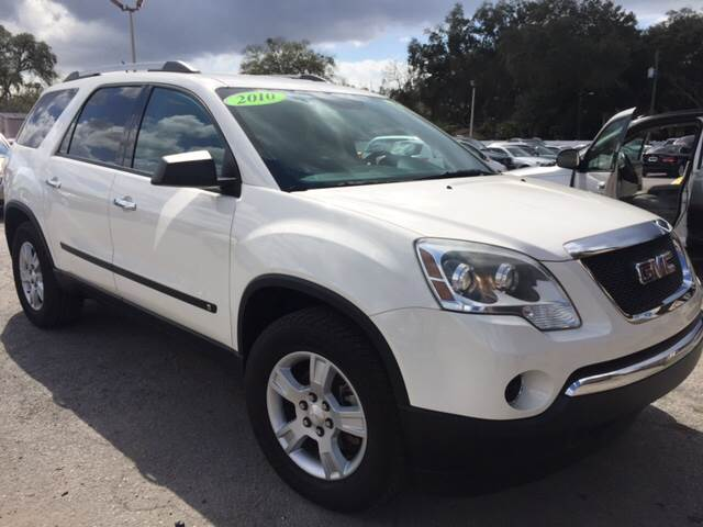 2010 GMC Acadia for sale at Budget Motorcars in Tampa FL