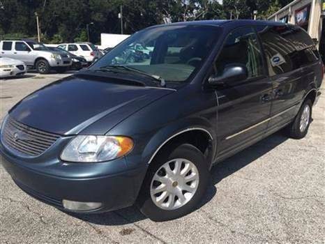 2002 Chrysler Town and Country for sale at Budget Motorcars in Tampa FL