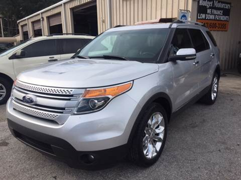2012 Ford Explorer for sale at Budget Motorcars in Tampa FL