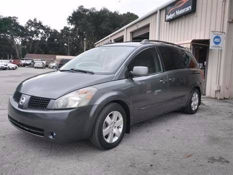2004 Nissan Quest for sale at Budget Motorcars in Tampa FL