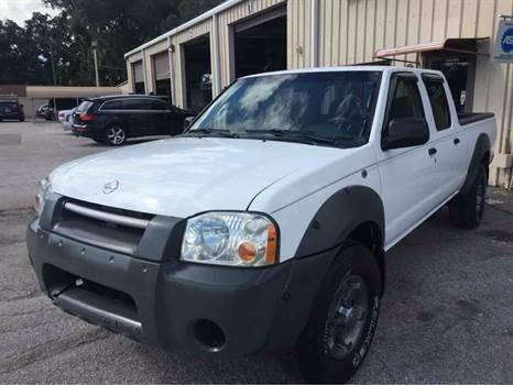 2002 Nissan Frontier for sale at Budget Motorcars in Tampa FL