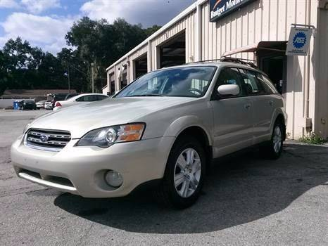 2005 Subaru Outback for sale at Budget Motorcars in Tampa FL