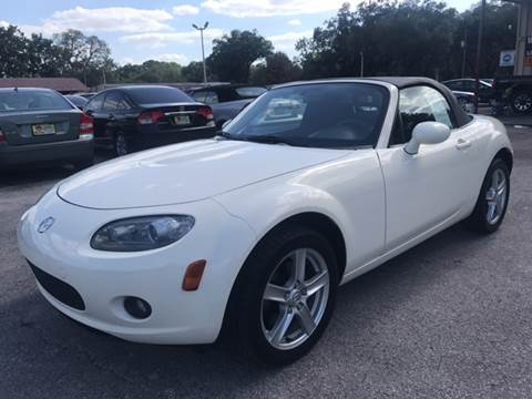 2007 Mazda MX-5 Miata for sale at Budget Motorcars in Tampa FL