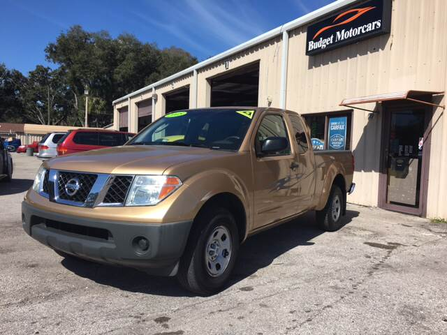2005 Nissan Frontier for sale at Budget Motorcars in Tampa FL