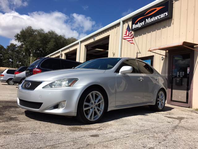 2006 Lexus IS 250 for sale at Budget Motorcars in Tampa FL