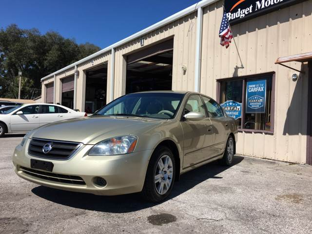 2003 Nissan Altima for sale at Budget Motorcars in Tampa FL
