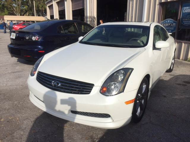 2004 Infiniti G35 for sale at Budget Motorcars in Tampa FL