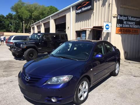 2006 Mazda MAZDA3 for sale at Budget Motorcars in Tampa FL