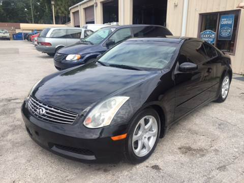 2005 Infiniti G35 for sale at Budget Motorcars in Tampa FL