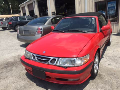 2003 Saab 9-3 for sale at Budget Motorcars in Tampa FL