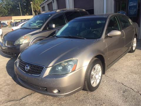 2006 Nissan Altima for sale at Budget Motorcars in Tampa FL