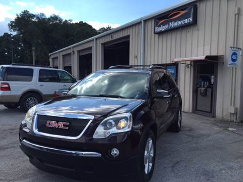 2008 GMC Acadia for sale at Budget Motorcars in Tampa FL