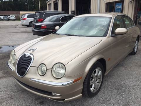 2003 Jaguar S-Type for sale at Budget Motorcars in Tampa FL