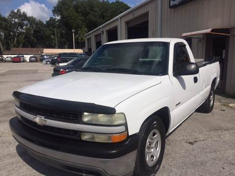 2002 Chevrolet Silverado 1500 for sale at Budget Motorcars in Tampa FL
