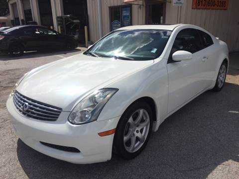 2006 Infiniti G35 for sale at Budget Motorcars in Tampa FL