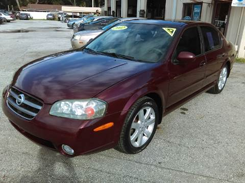 2002 Nissan Maxima for sale at Budget Motorcars in Tampa FL