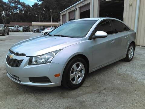 2013 Chevrolet Cruze for sale at Budget Motorcars in Tampa FL