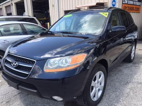 2009 Hyundai Santa Fe for sale at Budget Motorcars in Tampa FL