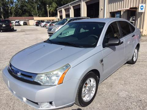 2008 Ford Focus for sale at Budget Motorcars in Tampa FL