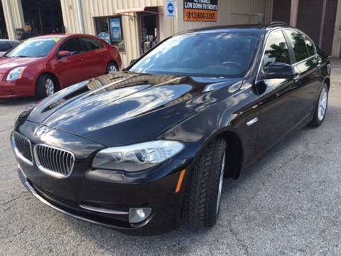 2012 BMW 5 Series for sale at Budget Motorcars in Tampa FL