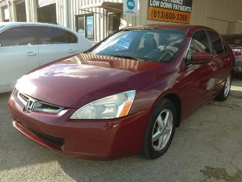 2004 Honda Accord for sale at Budget Motorcars in Tampa FL