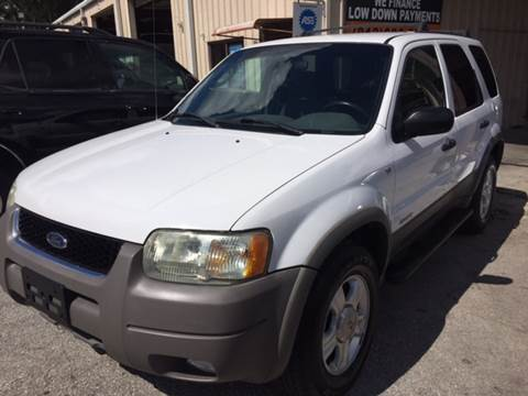 2002 Ford Escape for sale at Budget Motorcars in Tampa FL