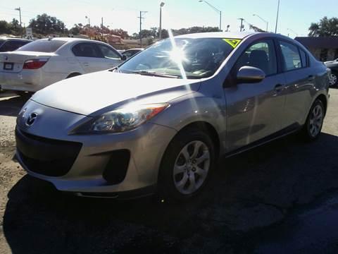2013 Mazda MAZDA3 for sale at Budget Motorcars in Tampa FL
