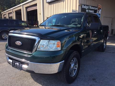 2008 Ford F-150 for sale at Budget Motorcars in Tampa FL