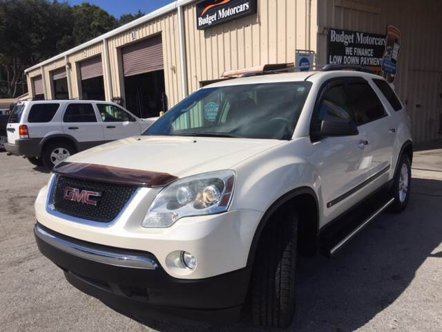 2009 GMC Acadia for sale at Budget Motorcars in Tampa FL
