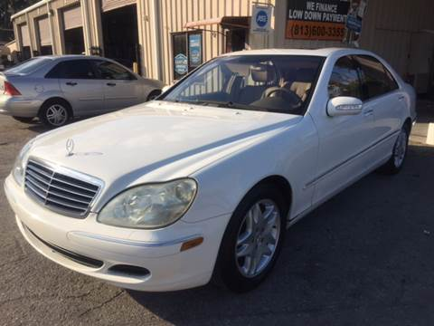 2003 Mercedes-Benz S-Class for sale at Budget Motorcars in Tampa FL