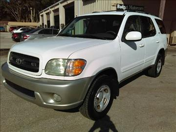 2002 Toyota Sequoia for sale at Budget Motorcars in Tampa FL