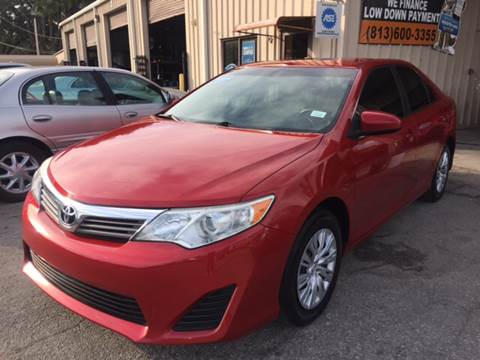 2012 Toyota Camry for sale at Budget Motorcars in Tampa FL
