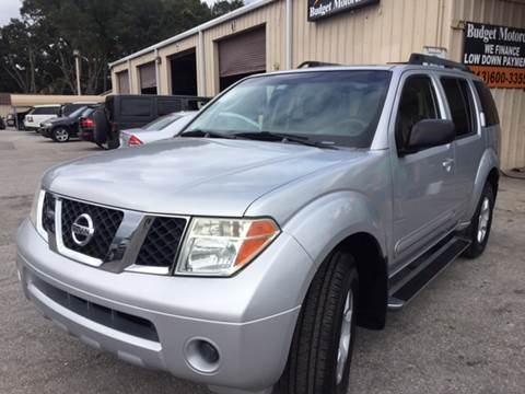 2005 Nissan Pathfinder for sale at Budget Motorcars in Tampa FL
