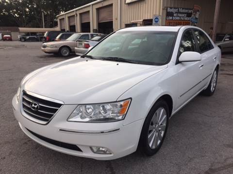 2009 Hyundai Sonata for sale at Budget Motorcars in Tampa FL
